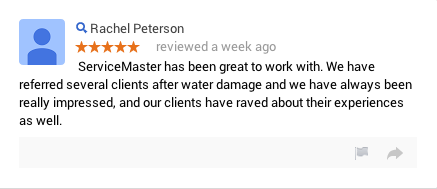 ServiceMaster Restoration Xperts Review FIRE WATER SMOKE MOLD FLOOD Salt Lake City | Orem | Park City | Heber City